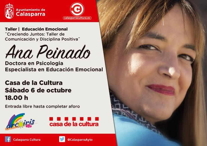 Taller Educación Emocional Octubre Calasparra