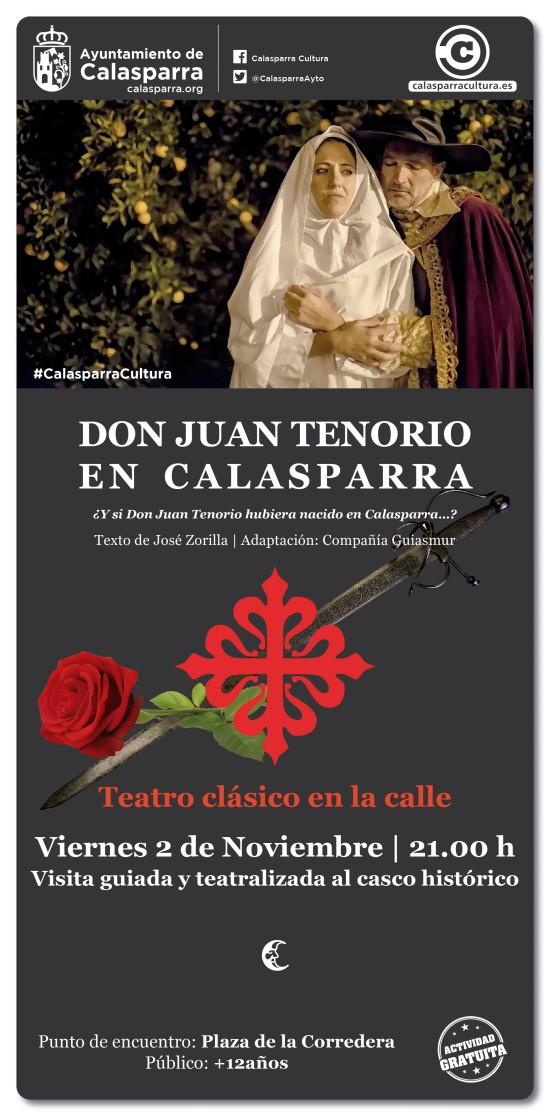 Don Juan Tenorio en Calasparra
