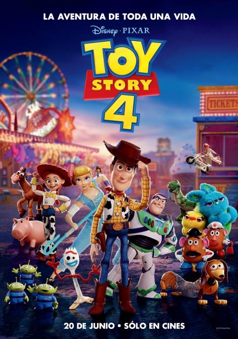 Toy Story 4 en el Auditorio Cine Rosales de Girona